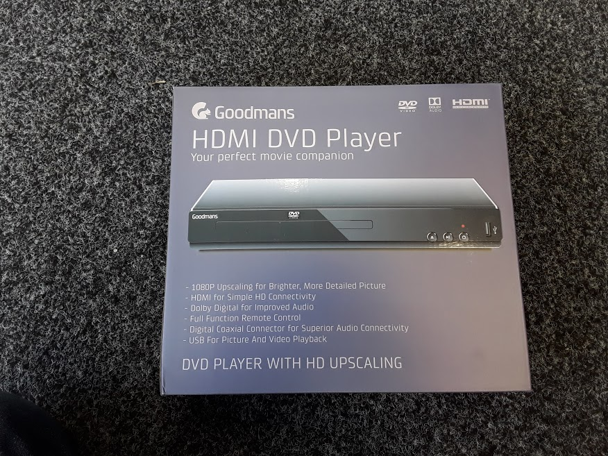 Goodmans DVD Player