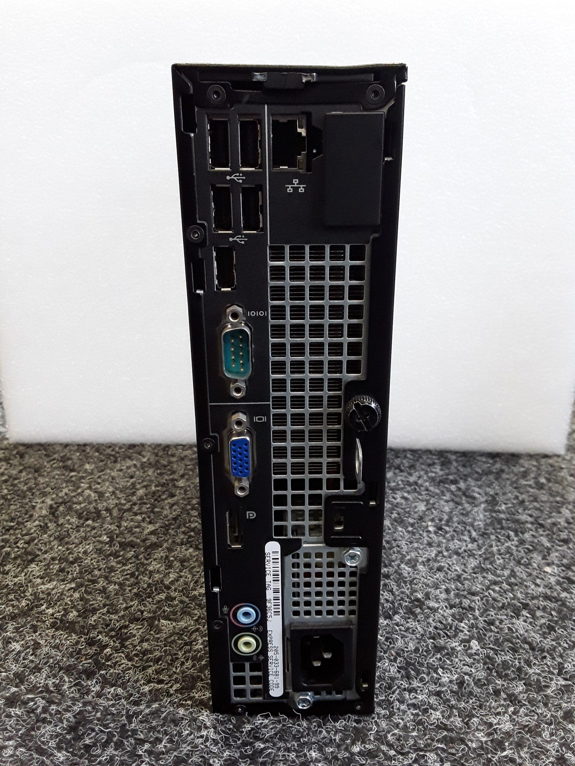 Dell PC Rear